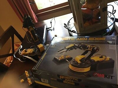 OWI Robotic Arm Edge built working perfect science toy Perfect Working Order