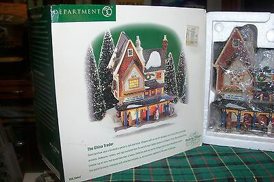 Dept 56 The China Trader #58447  Dickens Village / Retired Nib