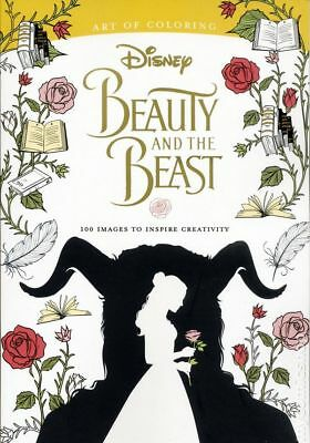 Art of Coloring Beauty and the Beast SC (2017 Disney Editions) #1-1ST NM