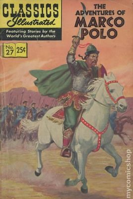 Classics Illustrated 027 Marco Polo (1946) #10 FN/VF 7.0