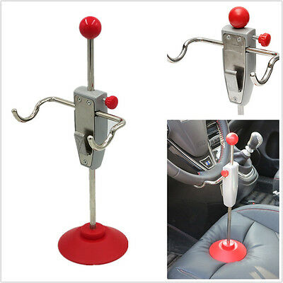 DIY 14.5'' Car SUV Interior Steering Wheel Holder Stand Tool Wheel Alignment Kit