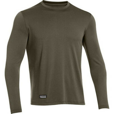 Under Armour 1248196 Men's OD Green Tactical Tech Long Sleeve Shirt - Size Small
