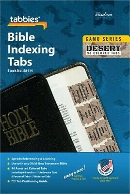 Camo 'Desert' Bible Indexing Tabs