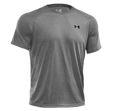 Under Armour 1228539 Men's Heather Gray Tech Short Sleeve T-Shirt - Size X-Large