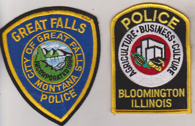 Great Falls Montana Police patch