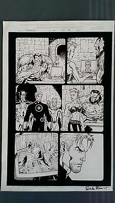 Ron LIM - Mutant X ORIGINAL Art Marvel Comics