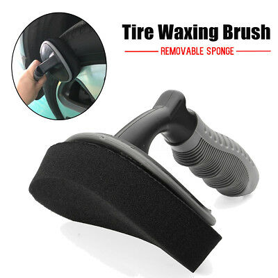 Wheel Tire Rim Scrub Washing Brush Cleaner Cleaning For Car Motorcycle Vehicle