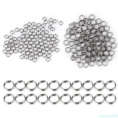 100PCS Top Quality Stainless Steel Darts Non-slip O-Ring Round For Dart Nylon