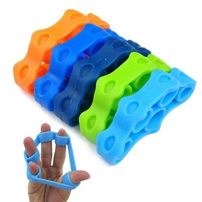 Finger Stretcher Hand Exerciser  Grip Strength Wrist Exercise Finger Trainer BS