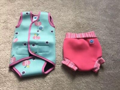 baby swim wrap and pants 0-6 Months