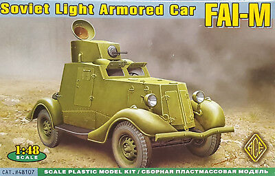 ACE #48107 Soviet Light Armored Car FAI-M in 1:48
