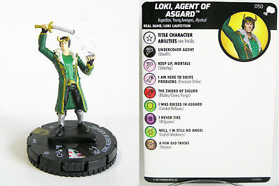 Heroclix - #050 Loki, Agent of Asgard - The Mighty Thor