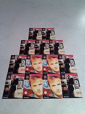 *****Colin James*****  Lot of 13 cards.....2 DIFFERENT