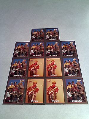 *****The Presleys*****  Lot of 14 cards.....2 DIFFERENT