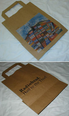 RADIOHEAD Hail To The Thief 2003 promo paper bag - new