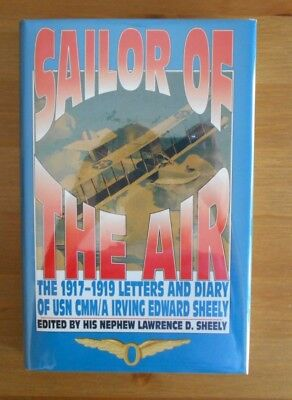 signed WW1 US NAVAL AVIATION DIARY BOOK EASTLEIGH