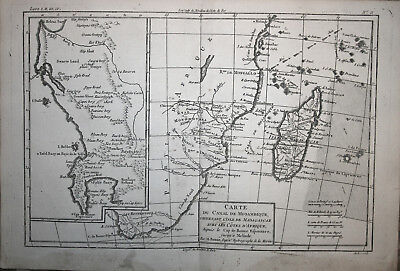 South Africa Madagascar - Bonne 1780
