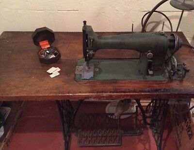 Vintage Husqvarna Nordic Sewing Machine Industrial Heavy Duty Electrical Rare!