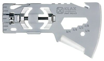 Klecker Knives T03 Klax Lumberjack Axe Head 10-In-1 Tool Nylon Sheath