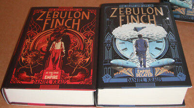 The Death and Life of Zebulon Finch Vol. 1 and 2 Complete Set by Daniel Kraus