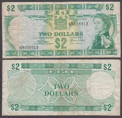 ND (1974) Central Monetary Authority of Fiji Queen Elizabeth II 2 Dollars