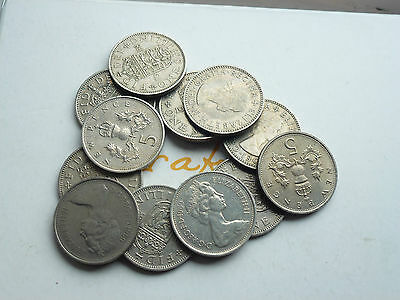 BUY 2 GET 1 FREE 1947/1993 GEORGE VI/ELIZABETH II SCOTTISH/ENGLISH SHILLING 5p >