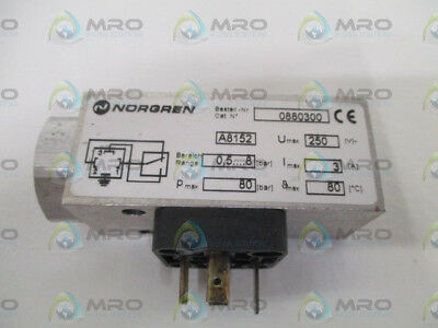 Norgren 0880300 Pressure Switch *new No Box*
