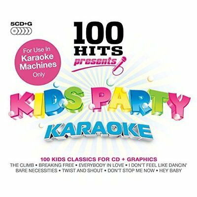 100 Hits Presents - Kids Party Karaoke Various Artists Audio CD