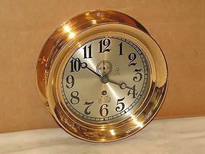 Chelsea  Pilot House Clock~7 Inch Dial~Ashcroft Manufacturing~1905