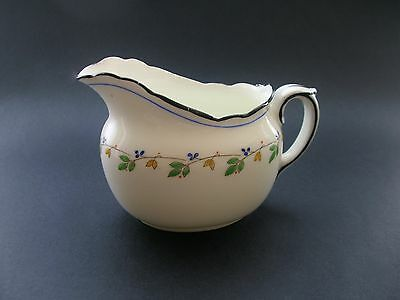 Royal Doulton Vintage English China Milk Jug Creamer Hand Painted Ra727283
