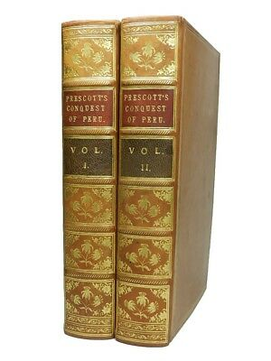 History of the Conquest of Peru | William H. Prescott | 1847 | First Edition