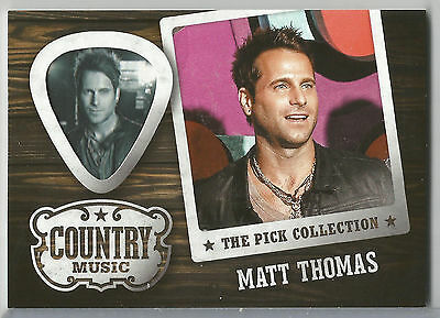 2015 Panini Country Music Matt Thomas The Pick Collection #15 Parmalee