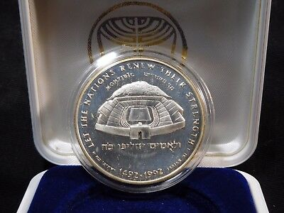 INV #Th48 Israel 1992 Silver State Medal Proof w/ COA