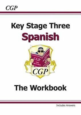 Ks3 Spanish Workbook with Answers by CGP Books 9781847628879 (Paperback, 2013)