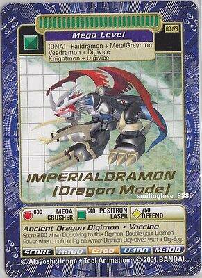 Digimon Digi-Battle Booster Series 4 Card - Bo-173 Imperialdramon (Dragon Mode)