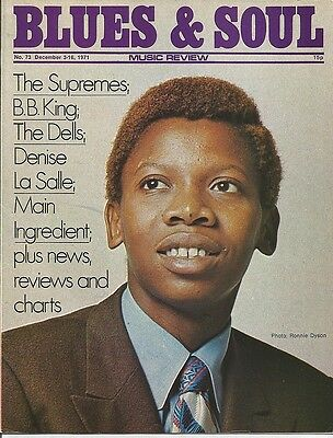 Rare Blues & Soul issue no. 73 December 3 to 16 1971