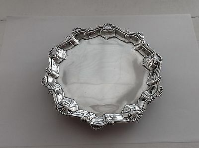 Excellent Sterling Silver Waiter..London 1762