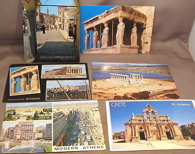 Six Cards Of Greece