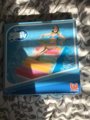Bestway Swimming Pool Inflatable XXL 2m Air Mattress Beach Holiday Lounger Bed