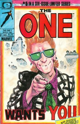 One (1985 Epic) #5 FN