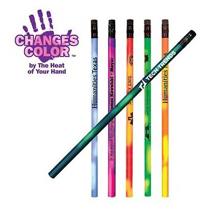 Mood Color Changing Pencils Personalized Cheap School Business Promotional