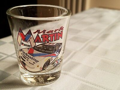 Mark Martin #6 Valvoline-Souvenir  Nascar Shot Glass -