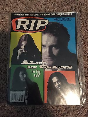 Alice In Chains Vintage Rip Magazine