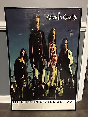 Alice In Chains Vintage Rare Promo Poster