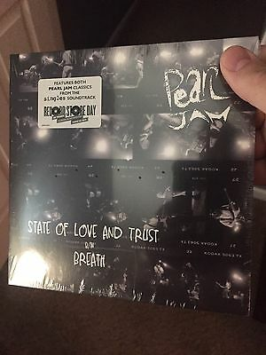 Pearl Jam State Of Love And Trust / Breath Record Store Day 2017 RSD