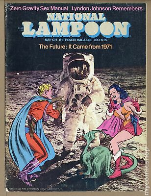National Lampoon (1970) #1971-05 VG 4.0