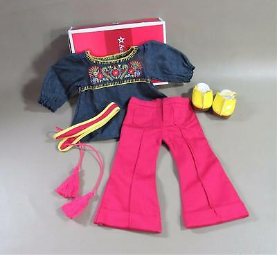 American Girl Julie Tunic Outfit - Complete Tunic Pants Clogs - Nib - Pls Read
