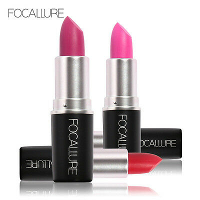 FOCALLURE Long-lasting Matte Lipsticks Pigment Makeup Beauty Cosmetic Gloss LP