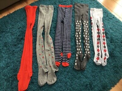 5 pairs of girls tights from Next age 11-12 years