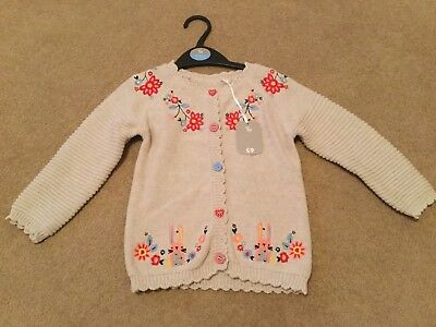 Girl's Cardigan By TU At Sainsbury's Size - Brand New, 18-24 Months